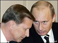 BBC News President Putin image