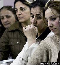 Iraqi refugees in Damascus