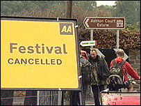 Festival cancelled