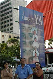 Valla en Cuba