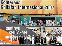 International Caliphate Conference 2007 in Jakarta.
