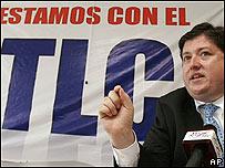 Alberto Trejos, ex ministro de comercio de Costa Rica