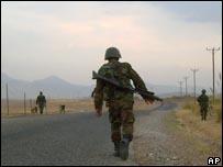 قوات تركية جنوب شرقي تركيا