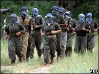 مسلحون من حزب العمال الكردستاني