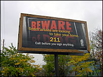 warning sign on lending by Cleveland government