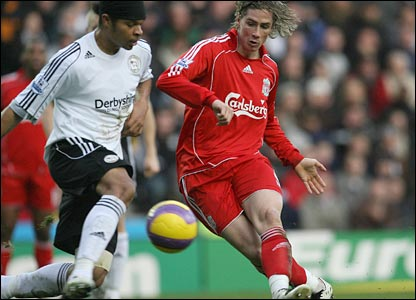 Torres slotted home Liverpool's 1st goal and his #9th in Premier League