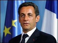 Nicolas Sarkozy, French president