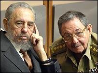 Fidel y Raúl Castro (Foto: archivo)