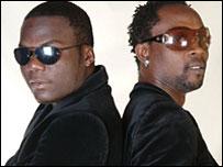 DJ Mix (l) and DJ Eloh (r)