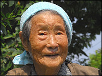 Matsu, 100, and a resident of Okinawa