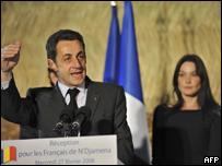 El presidente de Francia, Nicolas Sarkozy