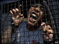 Manifestante pro Tibet detenido en Nepal