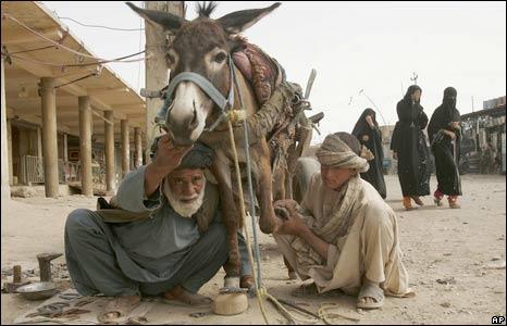 Blacksmith in Kandahar, Afghanistan