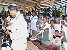 Ethiopian Jews. File photo