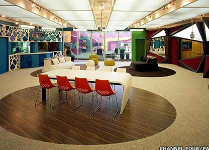 fancy dining room chairs chair back cushions bbc - newsbeat entertainment big brother house unveiled