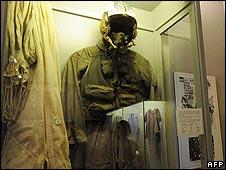 John McCain's flight suit at the