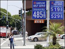 Harga minyak di Amerika Serikat