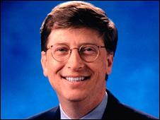 گیتس کمپانی مایکروسافت را در سال 1990 به حرکت در مسیر موج اینترنت واداشت.