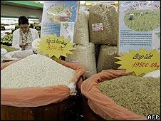 Quầy gạo
