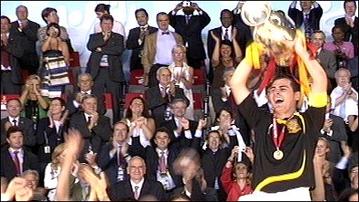 قهرماني اسپانيا در جام ملتها