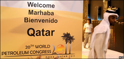 Participante en el Congreso Mundial del Petróleo