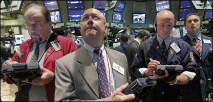Mercado de valores de New York,  martes 1o. de Julio de 2008, AP