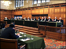 A general view of the International Court of Justice in The Hague, file pic from February 2008