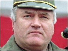 Ratko Mladic in 1995
