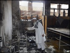 School hit by arsonists in Swat