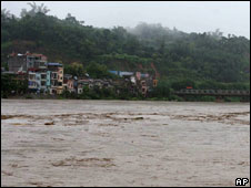 Rivers in the worst-hit province of Lao Cai have risen