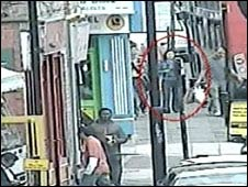 CCTV of Xi Zhou in street