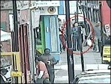 CCTV of Xi Zhou in street