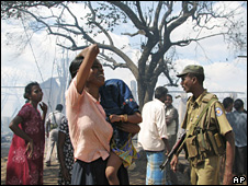 Displaced Tamil in Vavuniya