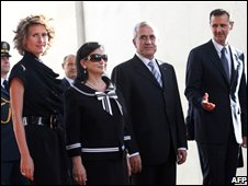Syrian and Lebanese presidents and first ladies