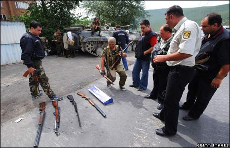 Weapons confiscated in Gori