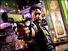 Jeffrey Dean Morgan in the Watchmen