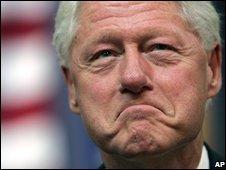 Bill Clinton, file picture