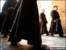 Franciscan monks (generic image)