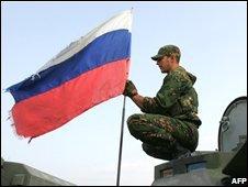Russian troops in Tskhinvali, 29/08