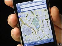 Mapa en internet