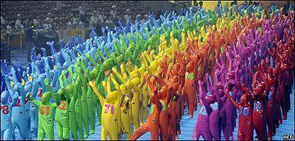 Ceremonia de inauguración de los Juegos Paralimpicos 2008