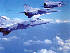 Sri Lanka Air Force MiG 27s (Photo from air force website)