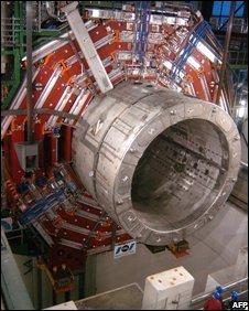 Giant magnet at Cern, AFP/Getty