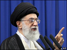 Iran's Supreme leader, Ayatollah Ali Khamenei. File photo