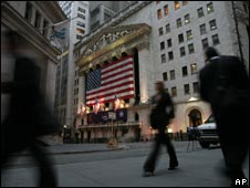 Wall Street, file pic