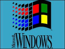 Windows 3 splash screen, Microsoft