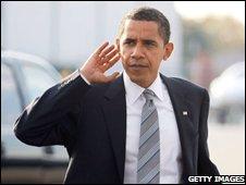 Barack Obama on 4 November