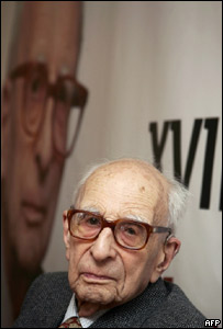 Claude Lévi-Strauss (foto archivo 2005)