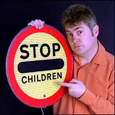 """Stop Children"" sign"