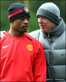 Evra and Fergie